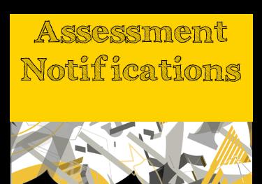 Assessment Notifications
